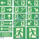 Placas de sinalização predial