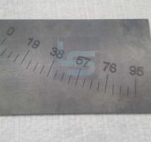 Gravação a laser em aço