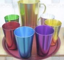 Anodização de alumínio cores